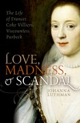 Cover for Love, Madness, and Scandal