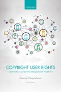 Cover for Copyright User Rights - 9780198754794