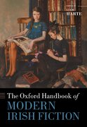 Cover for The Oxford Handbook of Modern Irish Fiction