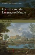Cover for Lucretius and the Language of Nature