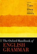 Cover for The Oxford Handbook of English Grammar