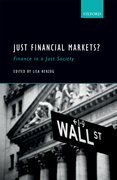 Cover for Just Financial Markets? - 9780198755661