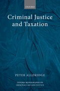 Cover for Criminal Justice and Taxation