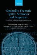 Cover for Optimality Theoretic Syntax, Semantics, and Pragmatics