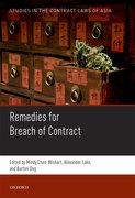 Cover for Studies in the Contract Laws of Asia