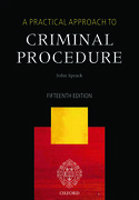 Cover for A Practical Approach to Criminal Procedure