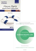 Cover for Human Rights Law Revision Pack 2015