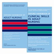Cover for Oxford Handbook of Adult Nursing and Oxford Handbook of Clinical Skills in Adult Nursing Pack