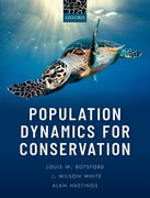 Cover for Population Dynamics for Conservation