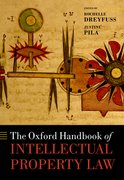 Cover for The Oxford Handbook of Intellectual Property Law