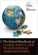 Cover for The Oxford Handbook of Global Policy and Transnational Administration