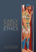 Cover for Early Greek Ethics