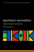 Cover for Psychiatric Neuroethics - 9780198758853