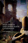 Cover for Hate Speech and Democratic Citizenship