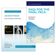 Cover for SAQs for the Final FRCA and Challenging Concepts in Anaesthesia Pack