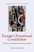 Cover for Europe's Functional Constitution - 9780198759072