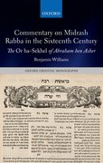 Cover for Commentary on Midrash Rabba in the Sixteenth Century