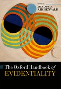 Cover for The Oxford Handbook of Evidentiality