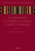Cover for Separation of Powers in African Constitutionalism