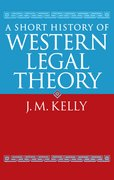 Cover for A Short History of Western Legal Theory