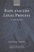 Cover for Rape and the Legal Process