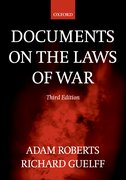 Cover for Documents on the Laws of War