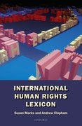 Cover for International Human Rights Lexicon