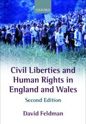 Cover for Civil Liberties and Human Rights in England and Wales
