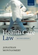 Cover for Health Care Law