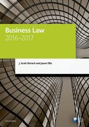 Cover for Business Law 2016-2017