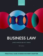 Cover for Business Law