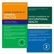 Cover for Oxford Handbook of General Practice 4e & Oxford Handbook of Occupational Health  2e