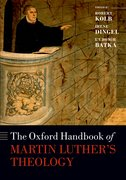 Cover for The Oxford Handbook of Martin Luther