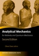 Cover for Analytical Mechanics for Relativity and Quantum Mechanics
