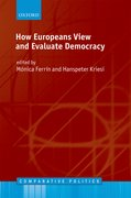 Cover for How Europeans View and Evaluate Democracy