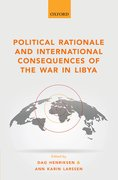 Cover for Political Rationale and International Consequences of the War in Libya