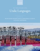 Cover for The Oxford Guide to the Uralic Languages