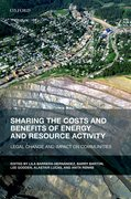Cover for Sharing the Costs and Benefits of Energy and Resource Activity
