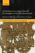 Cover for Scribal Repertoires in Egypt from the New Kingdom to the Early Islamic Period