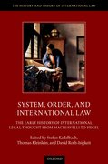 Cover for System, Order, and International Law