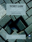 Cover for Tort Law