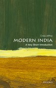 Cover for Modern India: A Very Short Introduction