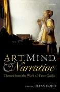 Cover for Art, Mind, and Narrative - 9780198769736