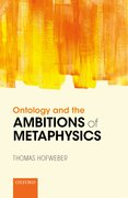 Cover for Ontology and the Ambitions of Metaphysics