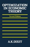 Cover for Optimization in Economic Theory