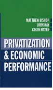 Cover for Privatization and Economic Performance