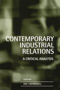 Cover for Contemporary Industrial Relations