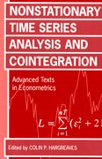 Cover for Nonstationary Time Series Analysis and Cointegration