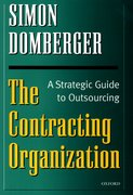 Cover for The Contracting Organization