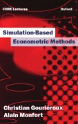 Cover for Simulation-Based Econometric Methods